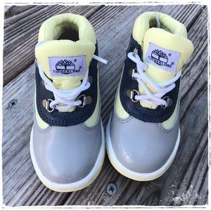 Timberlands TODDLER MIXED-MEDIA FIELD BOOTS